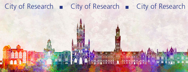 Bradford City of Research logo